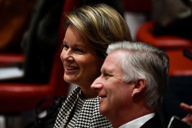De koning en de koningin bezochten vandaag de Veiligheidsraad van de VN.