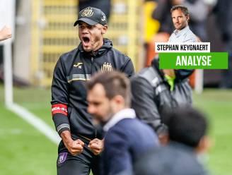 """""""Daar komt Anderlecht"""": onze chef voetbal ziet hoe Vincent Kompany paars-wit traag maar gestaag helpt te rehabiliteren"""