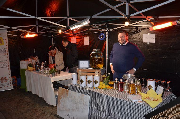 Het eerste 'Whisky-, Rum- en Gin Festival' in Welle.