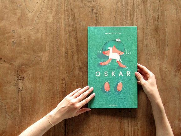 De cover van kinderboek 'Oskar' sleepte de hoofdprijs in de wacht op de Frankfurter Buchmesse.