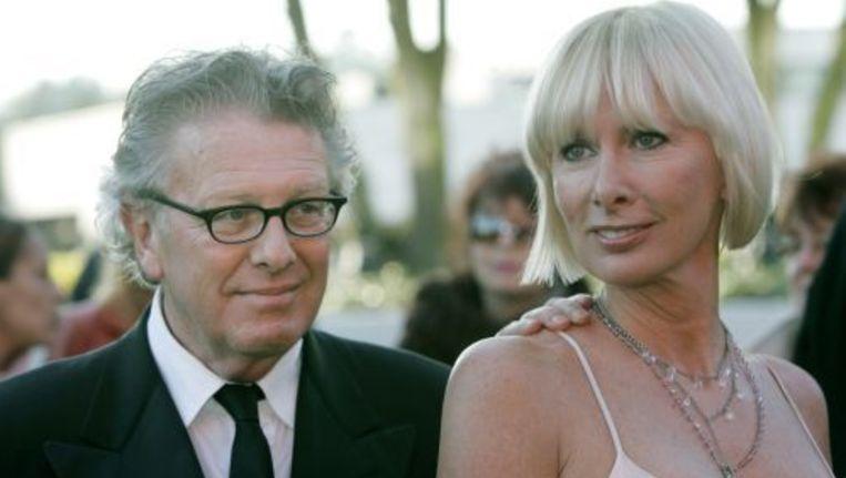 Jan des Bouvrie met zijn vrouw Monique. ANP Beeld