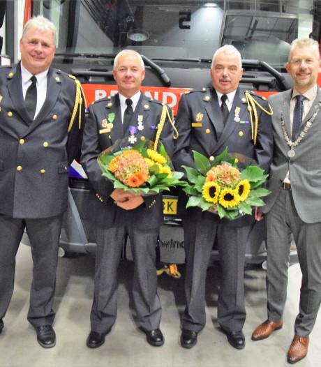 Koninklijke Onderscheiding voor Burense broers én brandweervrijwilligers