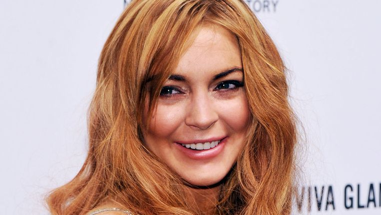 Lindsay Lohan zit nu in de ontwenningskliniek.