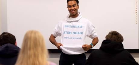 Noah uit Apeldoorn in race voor jongerenvertegenwoordiger VN: 'Mensenrechten en veiligheid zijn té belangrijk om alleen aan grijze koppen over te laten'