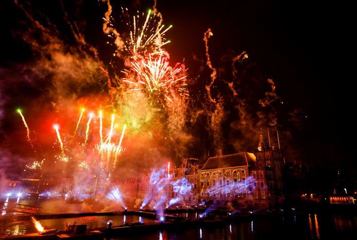 Dit jaar gaat de vuurwerkshow in Den Haag niet door.