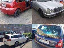Verschillende 'spookauto's' met Pools kenteken in beslag genomen in Oss