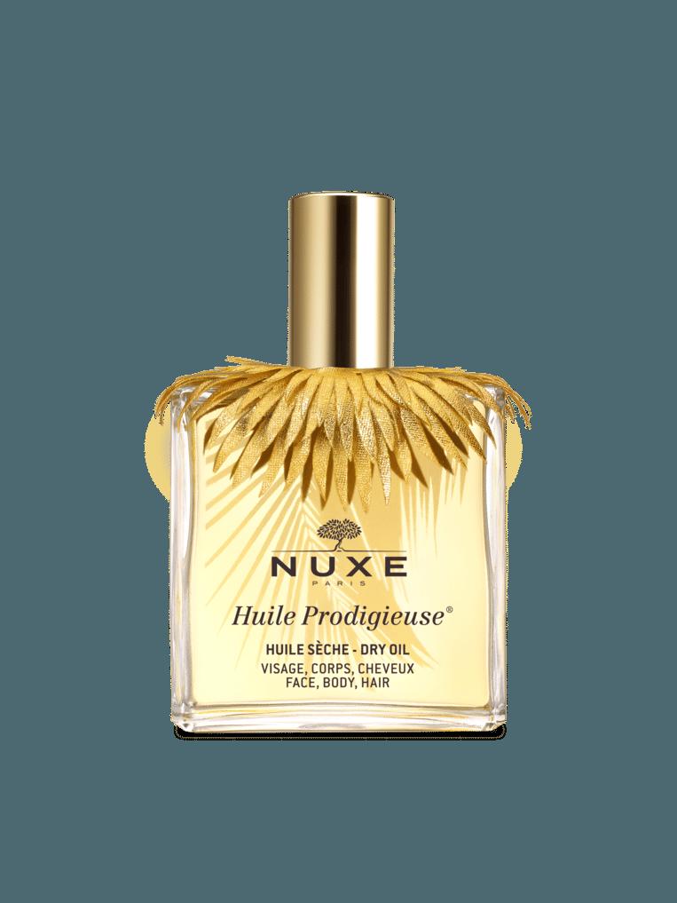 Een mix van oranjebloesem, rozen, gardenia, kokosnoot en vanille zorgt voor een parfum dat al heel wat trouwe fans kreeg sinds de lancering in 1991. De olie maakt je huid ook nog eens streelzacht. Huile Prodigieuse limited edition zomer van Nuxe € 29,99 in de apotheek
