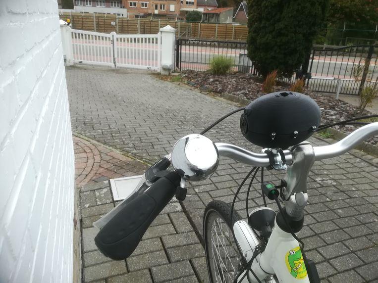 Inmiddels lieten Els Dauwe en Peter Reynaert al een tweede prototype van hun SofAlert maken.