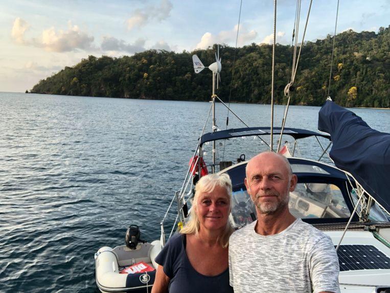'Soms heb ik het idee dat wij in dit spel als wisselgeld worden gebruikt', zegt Eric Westerveld (57) over de situatie waarin hij en Karin Duinker (59) nu in vastzitten. Beeld