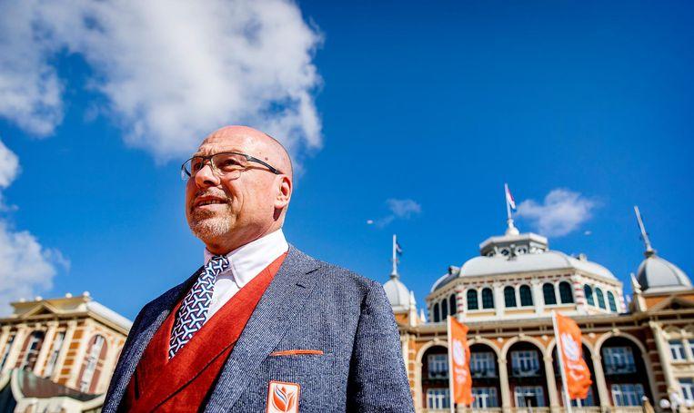 Maurits Hendriks, chef de mission van de olympische ploeg. Beeld anp