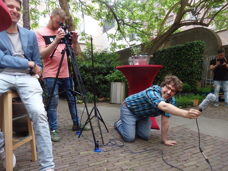 Paul Craven en Jurre van Gestel, van Creative Owl Media, maakten een productievideo en nu een after van de releaseparty. Met verve. Beeld Schuim