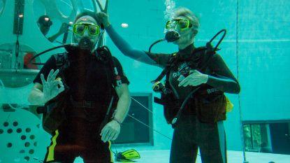 Raf en Rani duiken onder