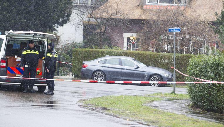 Politie bij de woning van Koen Everink Beeld anp