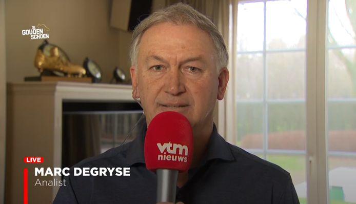 Marc Degryse blikt in VTM Nieuws vooruit op de Gouden Schoen.