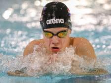 Vier overwinningen voor zwemmers DZK in hoofdklasse