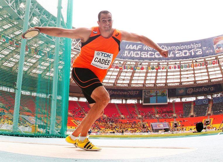Erik Cadée in 2013 op de WK in Rusland. Beeld EPA