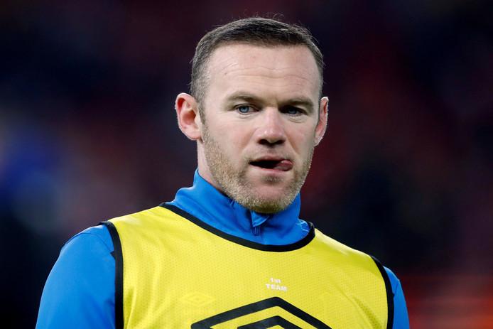 Wayne Rooney is bij Everton niet meer verzekerd van een basisplaats.