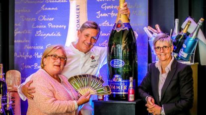 Win grootste Pommery-fles van 30 liter