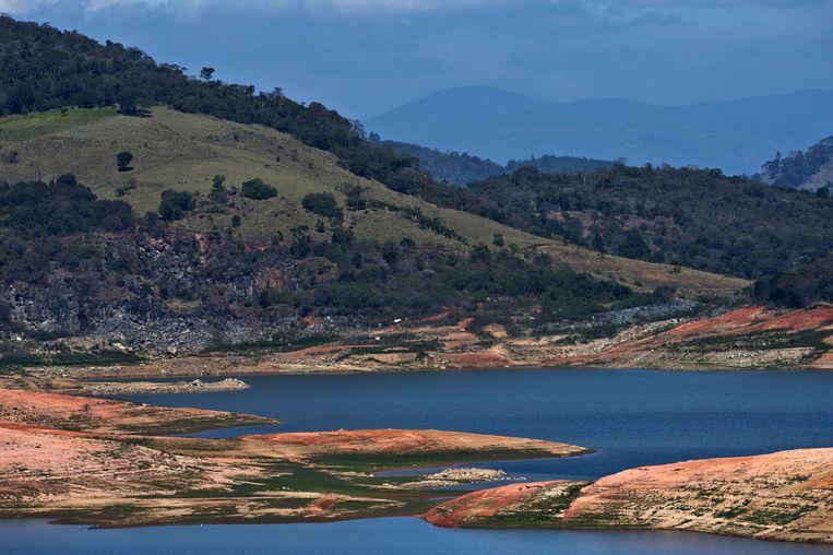 De Jaguari-dam Beeld afp
