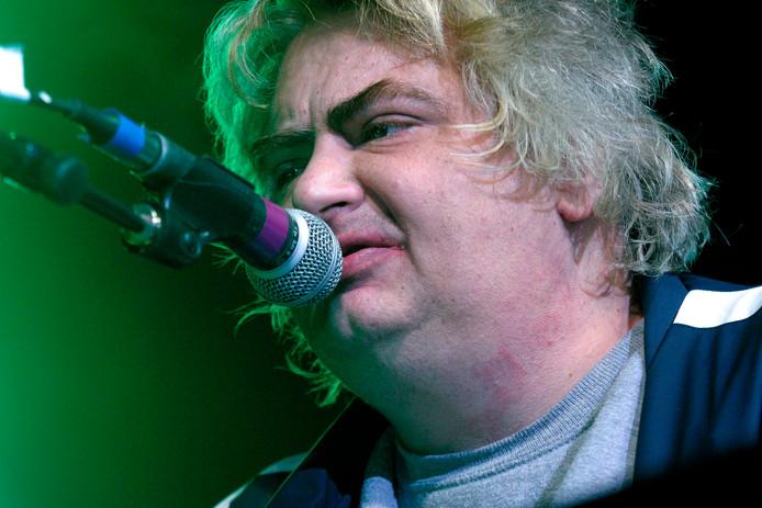Daniel Johnston en 2005 festival South By South West, à Austin.