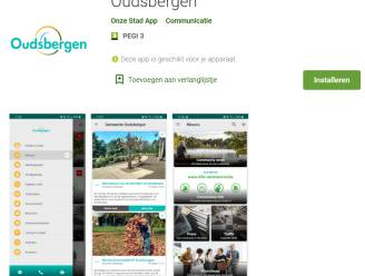 Oudsbergen heeft nu ook eigen app