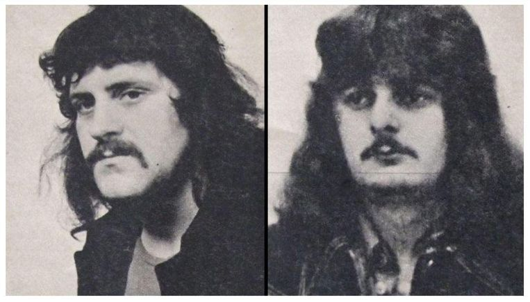 Piet Hölskens en Hans Martens. Beeld null
