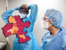 KAART | Twijfelachtig recordaantal nieuwe besmettingen, check hier de situatie in jouw gemeente