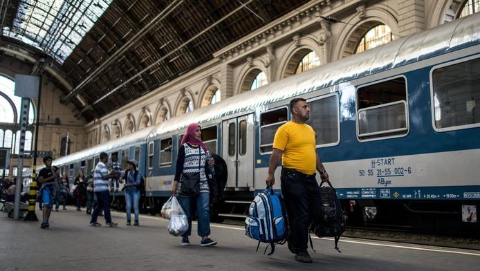 Gare de Keleti (Budapest, Hongrie)