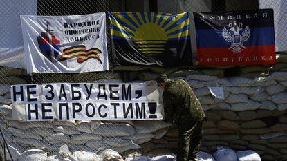Pro-Russische krachten in Oost-Oekraïne stellen referendum niet uit