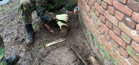 Granaat uit Tweede Wereldoorlog gevonden en tot ontploffing gebracht in Den Bosch