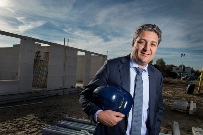 Ted van der Netten van Stigt van bouwbedrijf De Vree en Sliepen