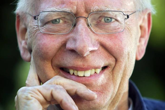 Oud-bestuurder Rein Welschen weet dat zijn ziekte niet te genezen is. foto Johan Wouters/het fotoburo