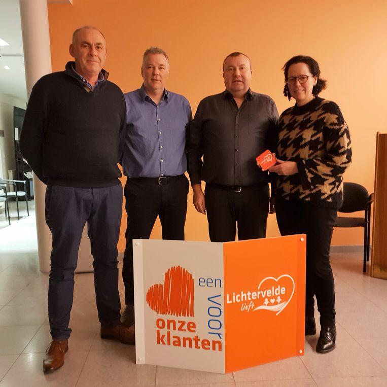 De gemeente slaat opnieuw de handen in elkaar met vzw Samen Ondernemen/Unizo voor de actie 'Lichtervelde Lieft'.