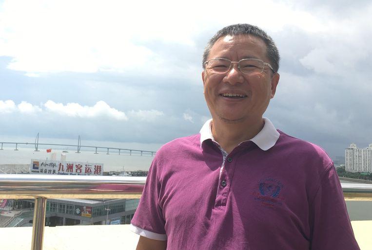 HZMB-directeur Wei Dongqing. Beeld Marije Vlaskamp