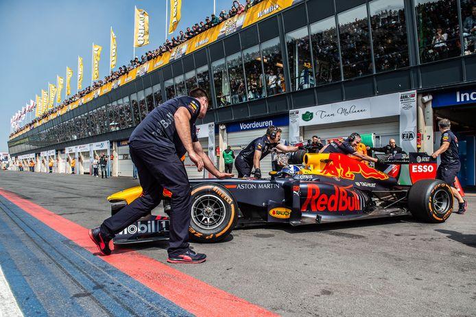 Max Verstappen tijdens afgelopen Jumbo Racedagen op Zandvoort