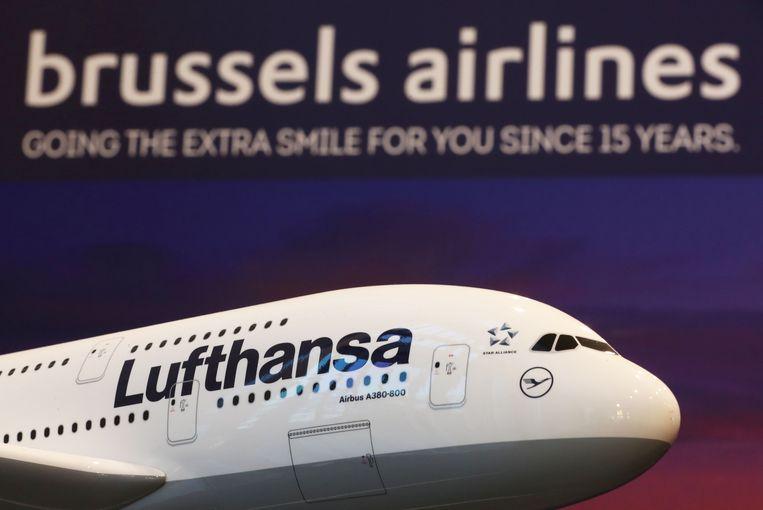 Brussels Airlines is onderdeel van Eurowings, waartoe ook Lufthansa behoort.