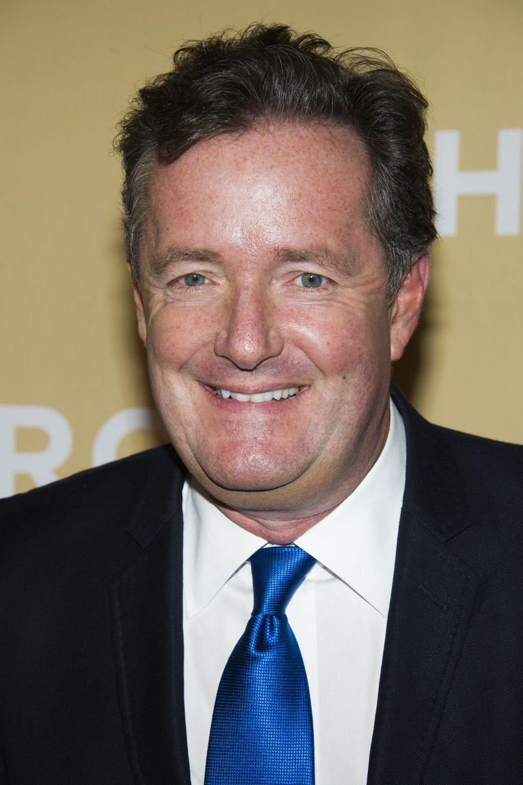 Piers Morgan heeft nu een eigen show op CNN en wordt niet vervolgd voor afluisteren Beeld ap