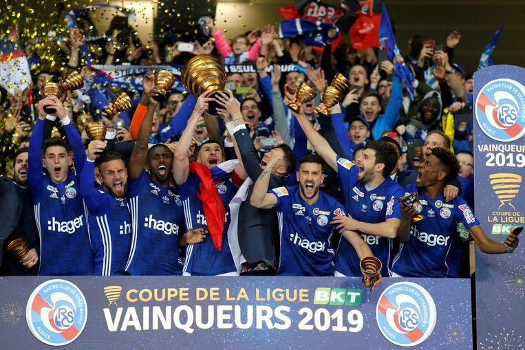 Strasbourg won de voorbije editie van de Coupe de la Ligue.