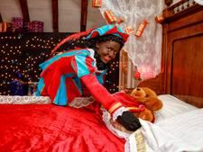 Sint slaapt lekker in kasteel Stapelen