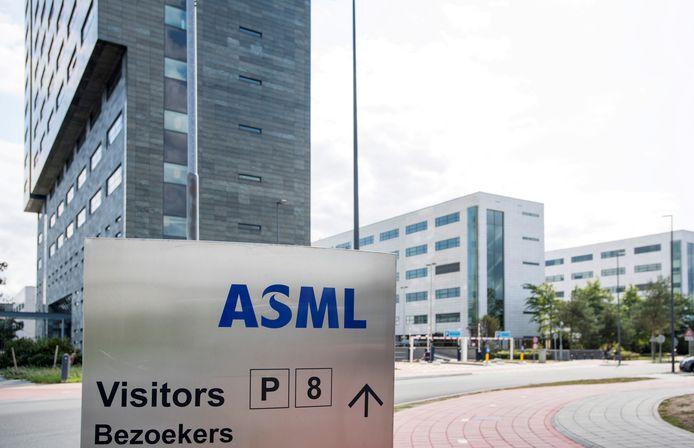 Hoofdkantoor van ASML in Veldhoven