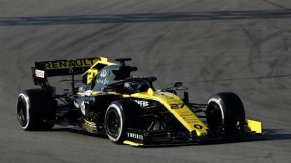 Nico Hülkenberg (Renault) is de snelste op dag 4 van testdagen, Mercedes nu wel sneller dan Ferrari