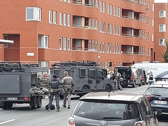 De CGSU, de elite-eenheden van de federale politie, kramen op. Na hun optreden kwam de interventie in een stroomversnelling.