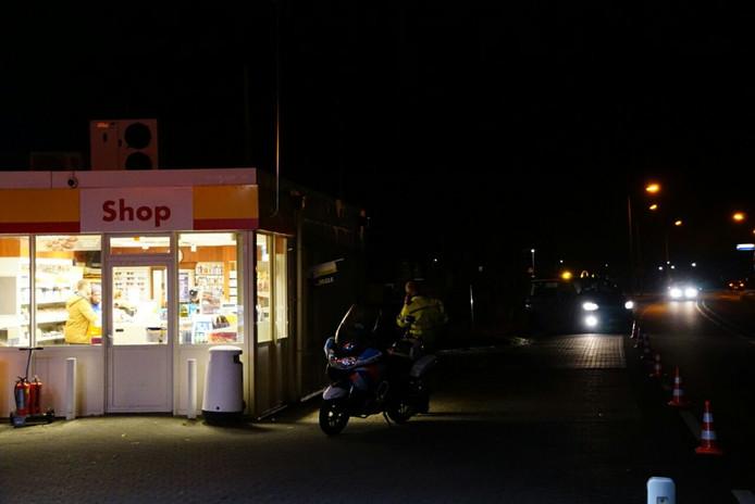 Overval op Shell tankstation in Vollenhove