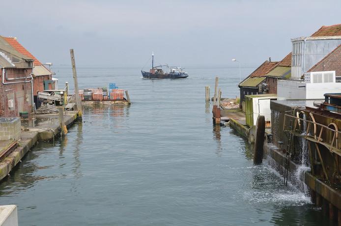 De haven van Yerseke, het favoriete uitzicht van oud-burgemeester Jan Huisman van de gemeente Reimerswaal.