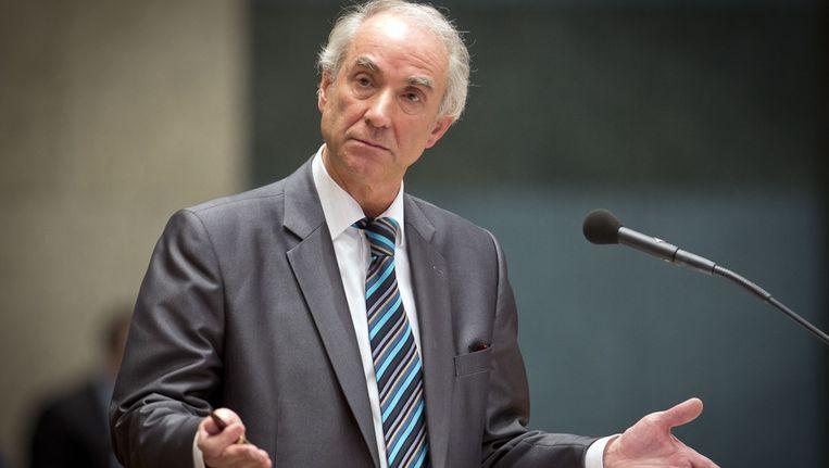 Gerd Leers tijdens Tweede Kamer vragenuurtje. Beeld ANP