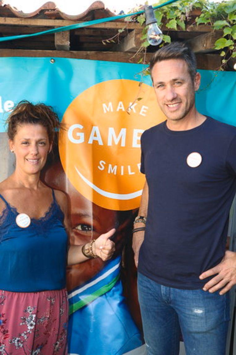 Kristof Van Lommel en Kelly Van Asten, bezielers achter het Make Gambia Smile verhaal