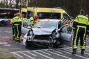 Aanrijding met gestolen auto in Oosterhout