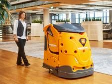 Schoonmaakrobot geeft Toekomst toekomst, 'Schoonmakers waren bang dat robot hun baan afnam'