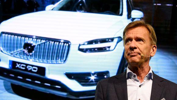Volvo-topman Hakan Samuelsson.