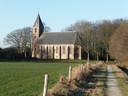 De kerk van Ruinerwold.